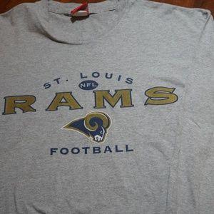 Other - Mens Vintage NFL St Louis Rams LS T Shirt Sz XL